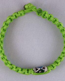 Bracelet vert perle 21cm