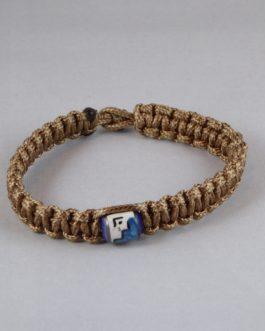 Bracelet marron perle 19cm