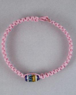 Bracelet rose perle 19cm