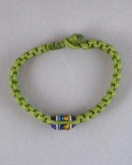 Bracelet vert perle 16cm