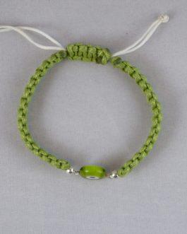 Bracelet vert perle Nazar Boncuk verte