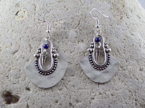 Boucles gouttes berbères lapis lazuli