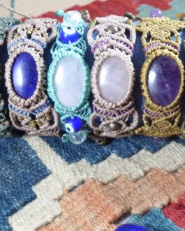 Bracelets macramé Enora