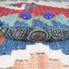 bracelet macramé vert unakite