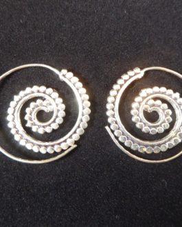 Spirales en Métal Argenté