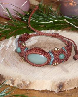 Bracelet Enora Aventurine fil Rouge