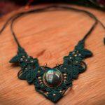 Bijoux en macramé déesse féerique