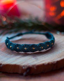 Bracelet Fin Macramé Vague Eternelle