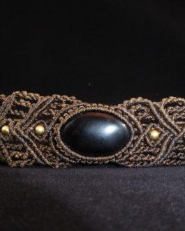 Bracelet marron Onyx