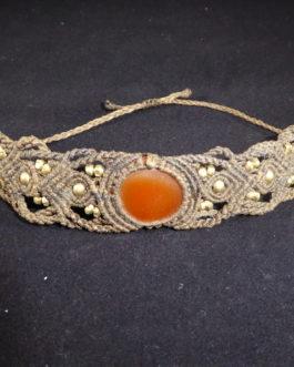 Bracelet marron Cornaline